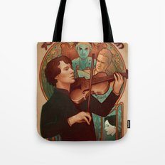 The Science of Deduction Tote Bag