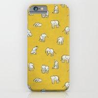 indian baby elephants iPhone 6 Slim Case