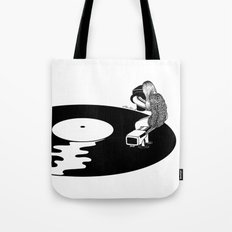 Don't Just Listen, Feel … Tote Bag