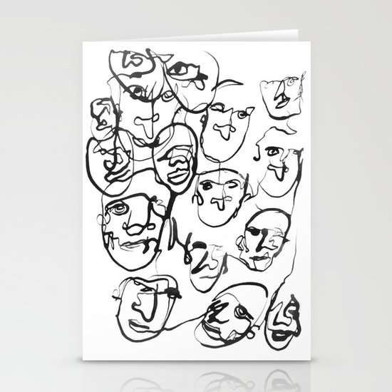 FACES / 000 Stationery Card