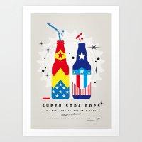 My SUPER SODA POPS No-24 Art Print