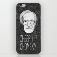 Cheer Up Chomsky iPhone & iPod Skin