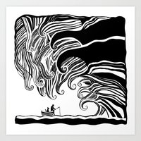 Dark Wave Art Print