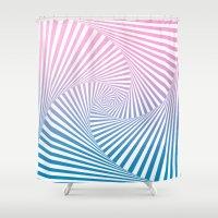 Barika Summer Twista Shower Curtain