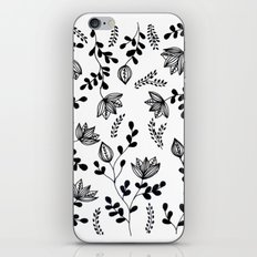 Flower pattern #2 iPhone & iPod Skin
