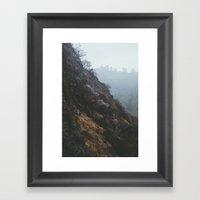 Bronson Canyon, CA Framed Art Print