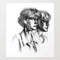 Carey Art Print
