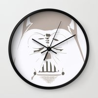 Ghost Darth Vader Wall Clock