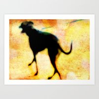 Walk This Way Art Print