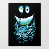 Cave-ities Canvas Print
