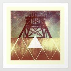 Elemental Framework Art Print