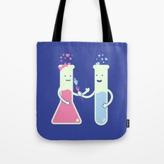 They Have Chemistry  Tote Bag