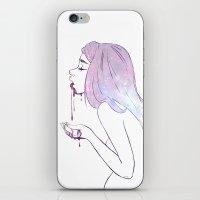 Puke The Cosmos iPhone & iPod Skin