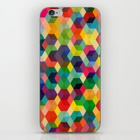 Hexagonzo iPhone & iPod Skin