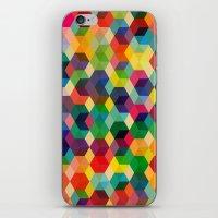 Hexagonzo iPhone & iPod Skin