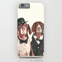german short hair pointers - F.I.P. @ifitwags (The pointer brothers) iPhone 6 Slim Case