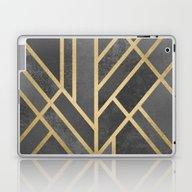 Laptop & iPad Skin featuring Art Deco Geometry 1 by Elisabeth Fredriksso…