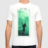 The Essence Of Life Mens Fitted Tee White SMALL