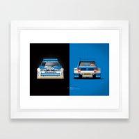 Group B Edition, N.º5, MG Metro 6R4 Framed Art Print