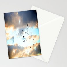 Don't Break Formation Stationery Cards