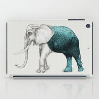 iPad Case featuring The Stone Elephant by Beth Thompson