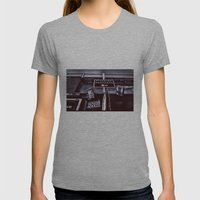 Signs- Monochrome Editio… Womens Fitted Tee Athletic Grey SMALL