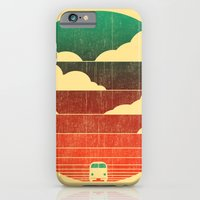 clouds iPhone & iPod Cases featuring Go West by Picomodi
