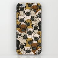 Social Pugz iPhone & iPod Skin