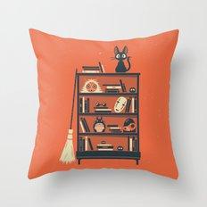 Ghibli Shelf // Miyazaki Throw Pillow