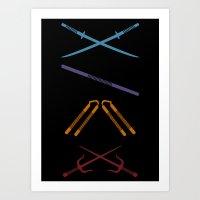 TMNT Art Print