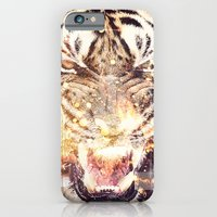 iPhone & iPod Case featuring Feline Fire by Ricardo Ajcivinac