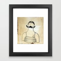 bather Framed Art Print