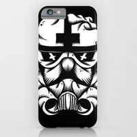 iPhone & iPod Case featuring Satanic Trooper by dominantdinosaur