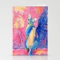 Sphynx Cat 3 Stationery Cards