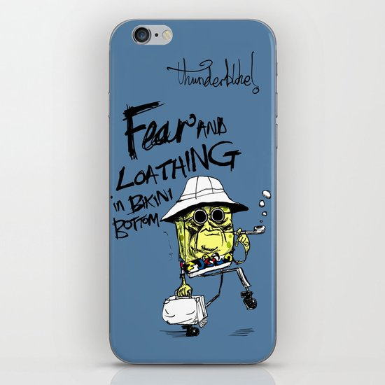 Fear and Loathing in Bikini Bottom iPhone & iPod Skin