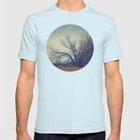 Family Tree  Mens Fitted Tee Light Blue SMALL