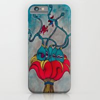 iPhone & iPod Case featuring Schizo by Erik V. Moule (In Detail)