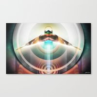 ∆  conscious flight Canvas Print