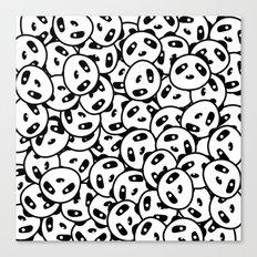 Pandamonium (Patterns Please Series #2) Canvas Print