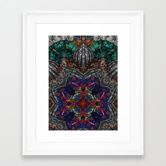 Psychedelic Botanical 16 Framed Art Print