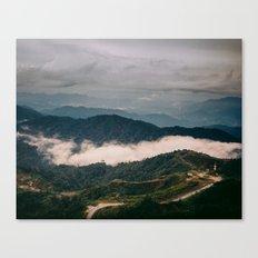 hiking in malaysia Canvas Print