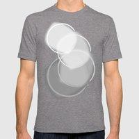 Colorblind Opal  Mens Fitted Tee Tri-Grey SMALL