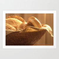 Bread Basket Art Print