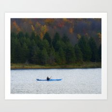 Kayak Time Art Print