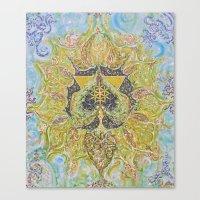 Anahata - Heart Chakra Canvas Print