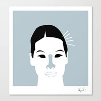 O-Ren Ishii Canvas Print