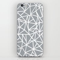Abstract Outline Thick W… iPhone & iPod Skin