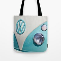 Classic VW Camper Tote Bag