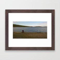 Sullom Voe Framed Art Print