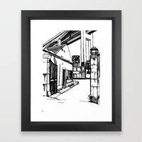 LX Factory 4 Framed Art Print